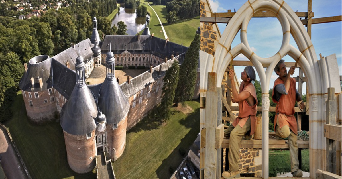 The French Have Been Building This Incredible Medieval Castle For 20 Years Now Using Only Medieval Techniques