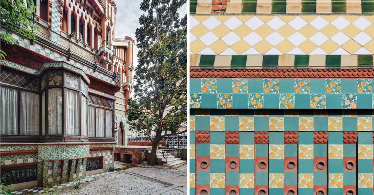 First Stunning Home Antoni Gaudi Ever Designed Just Opened To The Public 130 Years Later, And It's Magnificent