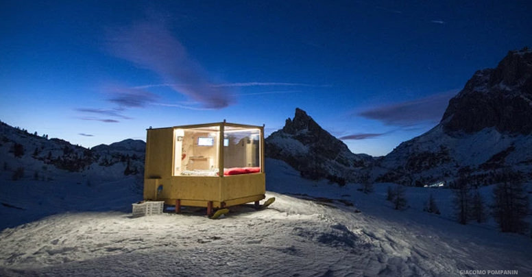 The Starlight Room In The Italian Dolomites Offers A Room With An Unbelievable View You Have To See