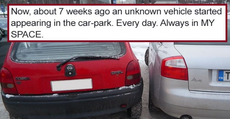 Angry Reddit User Gets Serious Revenge On The Man Who Keeps Stealing His $1,600 Parking Spot