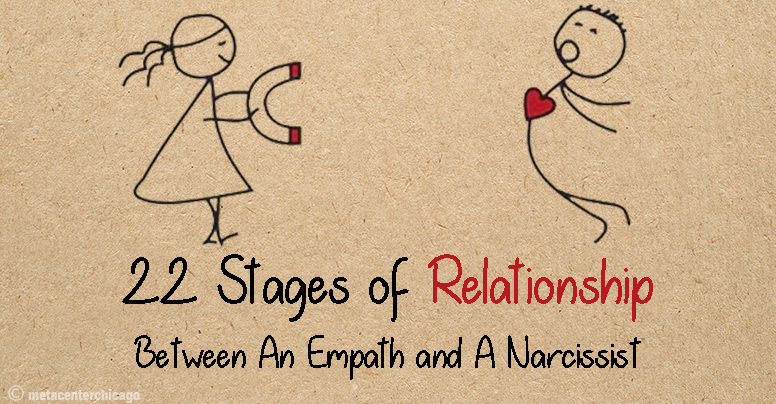22 Stages That Occur In A Relationship Between An Empath And A Narcissist