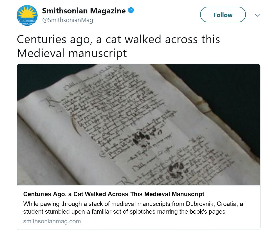Twitter @SmithsonianMag